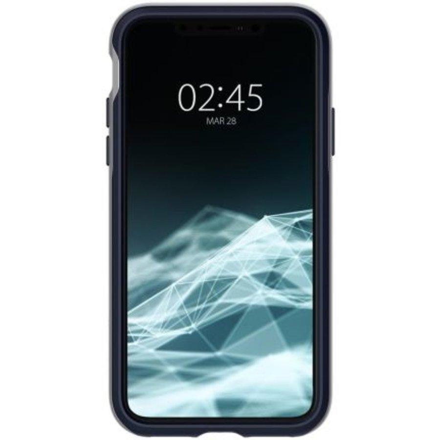 iPhone XS Max - Spigen  Neo Hybrid (zilver)-4
