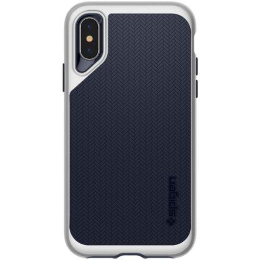 iPhone XS Max - Spigen  Neo Hybrid (zilver)-5