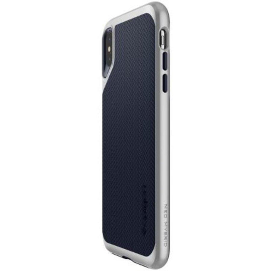 iPhone XS Max - Spigen  Neo Hybrid (zilver)-6