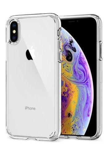 Apple iPhone XS - Spigen  Ultra Hybrid (crystal clear)