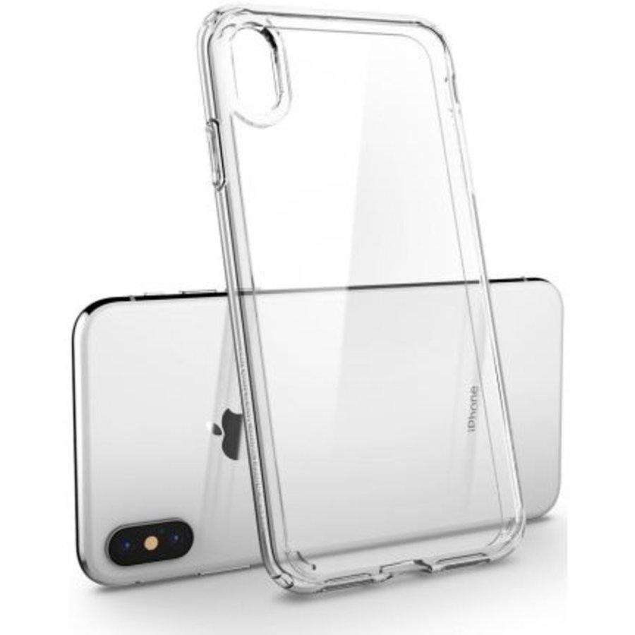 iPhone XS Max -  Spigen Ultra Hybrid (crystal clear)-3