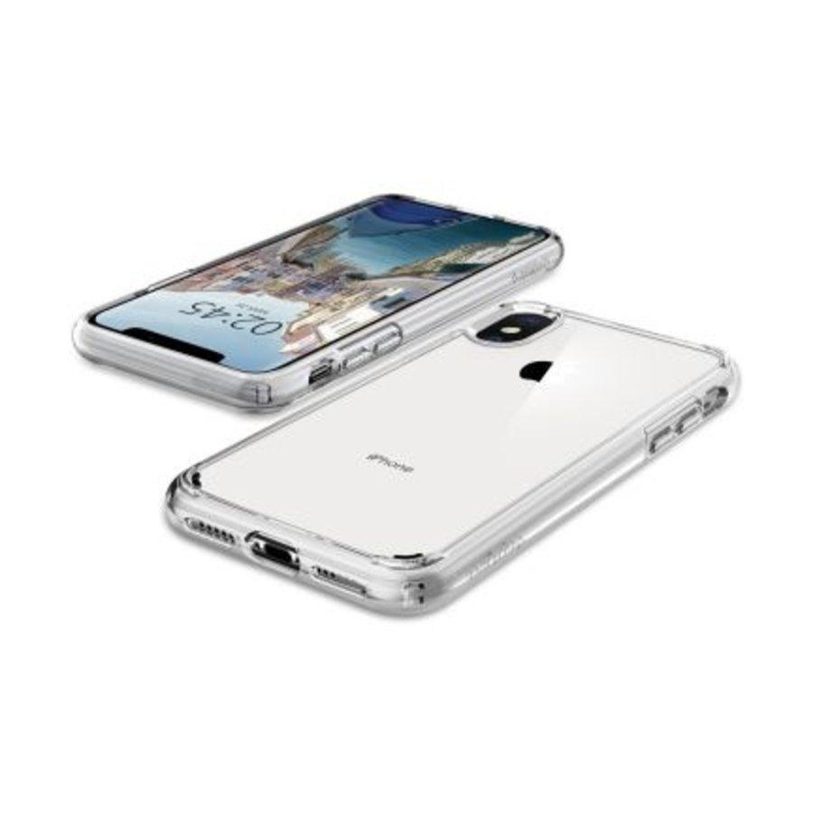 iPhone XS Max -  Spigen Ultra Hybrid (crystal clear)-4