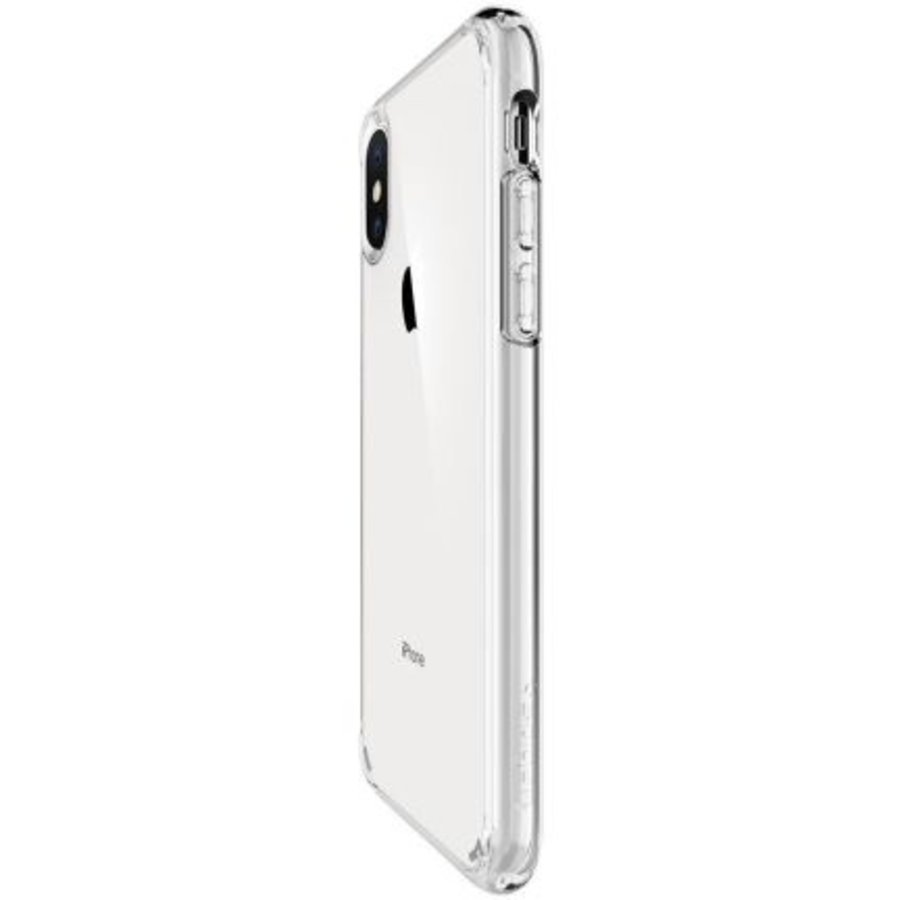 iPhone XS Max -  Spigen Ultra Hybrid (crystal clear)-6