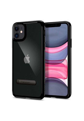 Apple iPhone 11 - Spigen Ultra Hybrid (zwart)