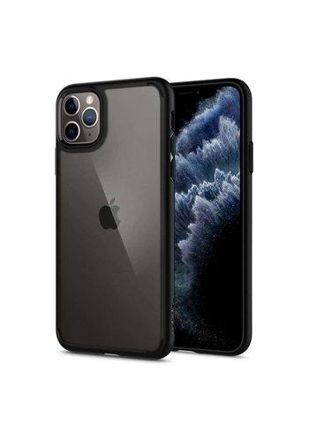 Apple iPhone 11 Pro - Spigen Ultra Hybrid (matt zwart)