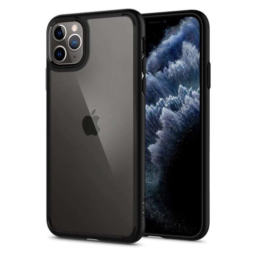 iPhone 11 Pro - Spigen Ultra Hybrid (matt zwart)-1
