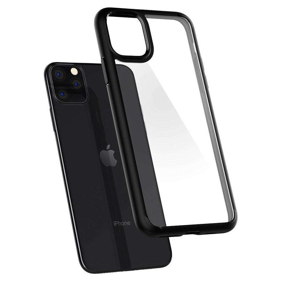 iPhone 11 Pro - Spigen Ultra Hybrid (matt zwart)-3