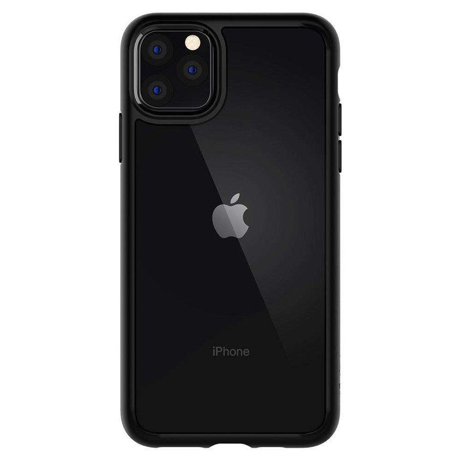 iPhone 11 Pro - Spigen Ultra Hybrid (matt zwart)-4