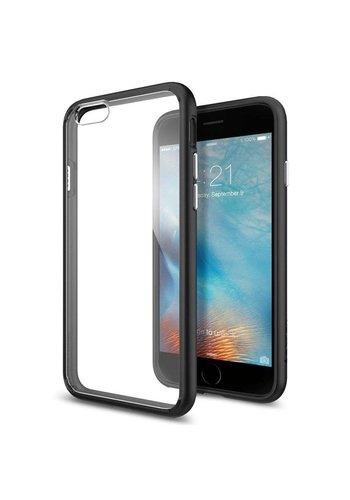 Apple iPhone 6/6s - Spigen Ultra Hybrid (zwart)