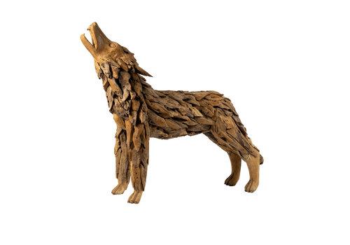 JoJo Living Teakhouten Wolf