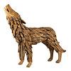 JoJo Living Teakhouten Wolf (Groot)