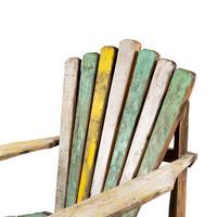 Recycled Teakhouten Relax Tuinstoel