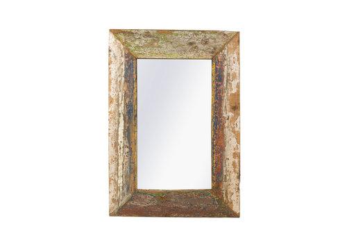 JoJo Living Recycled Teakhouten Spiegel 70x100cm