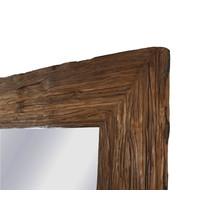 Teakhouten Spiegel 100x200cm