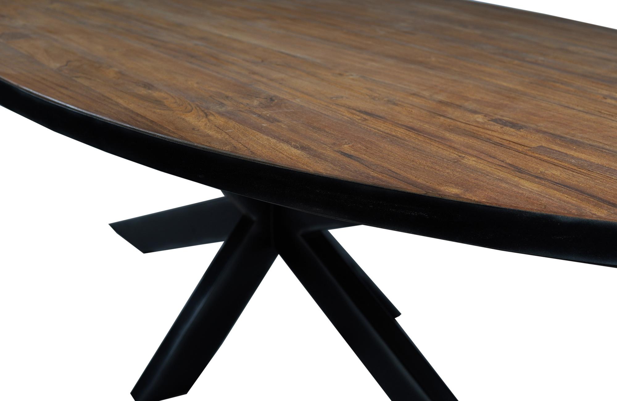 teakhouten-tafel
