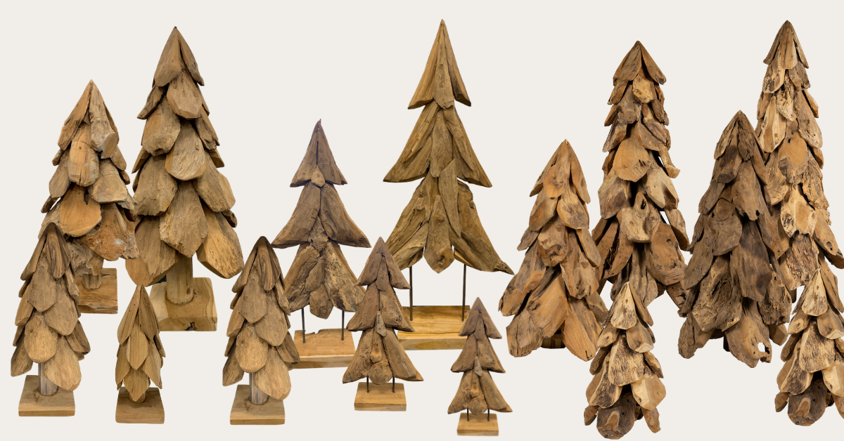 Houten kerstboom kopen in Zwolle