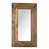 JoJo Living Teakhouten Spiegel 90x160cm