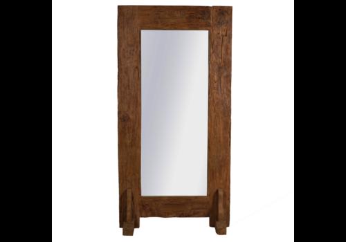 JoJo Living Grote Teakhouten Spiegel 200 cm