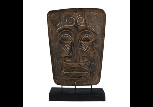 JoJo Living Teakhouten Decoratie Masker Topeng