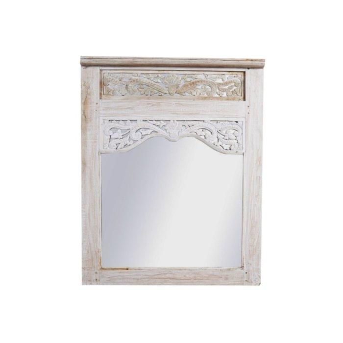 Teakhouten Spiegels