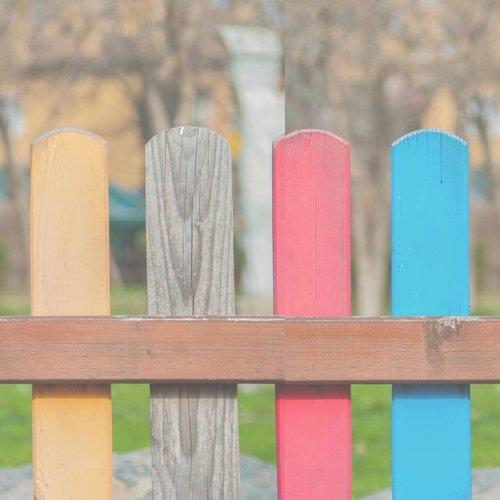 6x een lekker kleurtje in de tuin