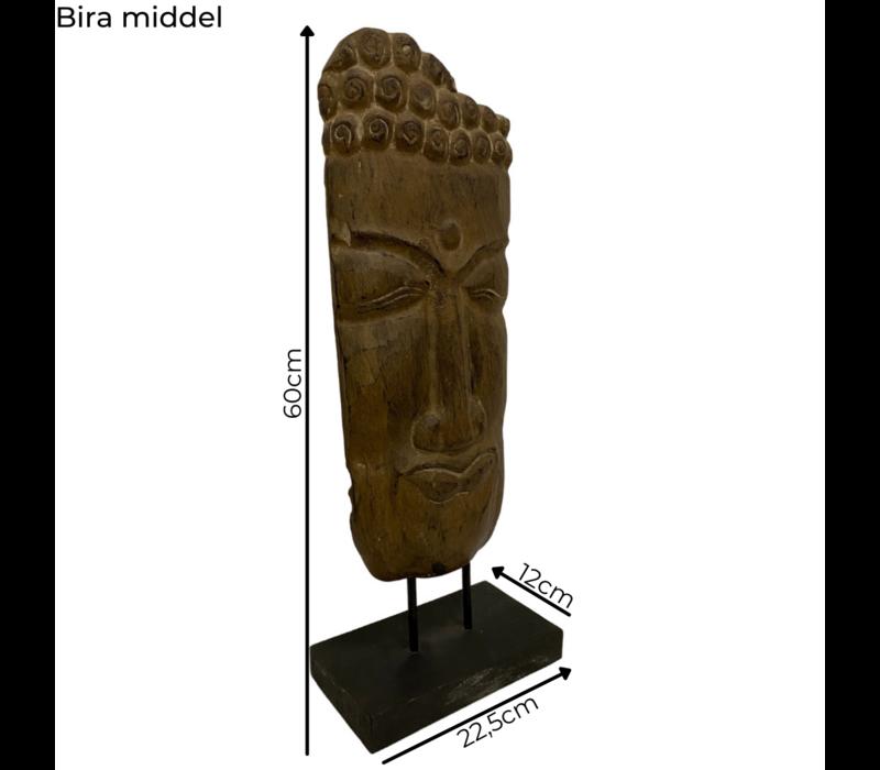 Teakhouten beeld Bira