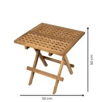 Vierkante Picknicktafel