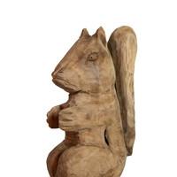 Teakhouten eekhoorn