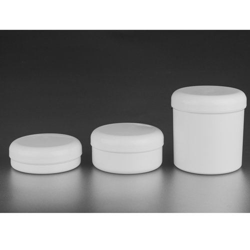 Standard Serie  Single wall jar 250 ml  + Rounded cover