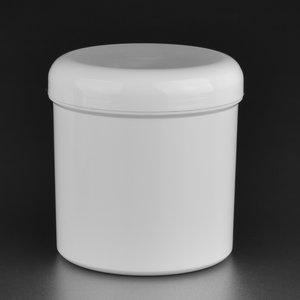 Standard Serie  250 ml pot en plastique + Couvercle arrondi