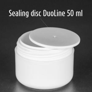 option Abdeckscheibe (PP) für  DuoLine 50 ml und Evyta 50 ml
