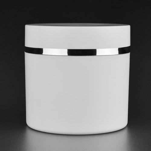 Evyta Serie Dubbelwandige pot - Evyta 250 ml - met schroefdeksel - PP - wit -stapelbaar