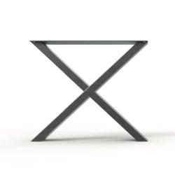 Stalen X-poot (10 x 5 cm)