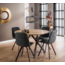 Cheers Living Ronde tafel Edison Eikenlook 120 cm - Inclusief Montage