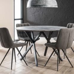 Ronde tafel Edison Betonlook 120 cm