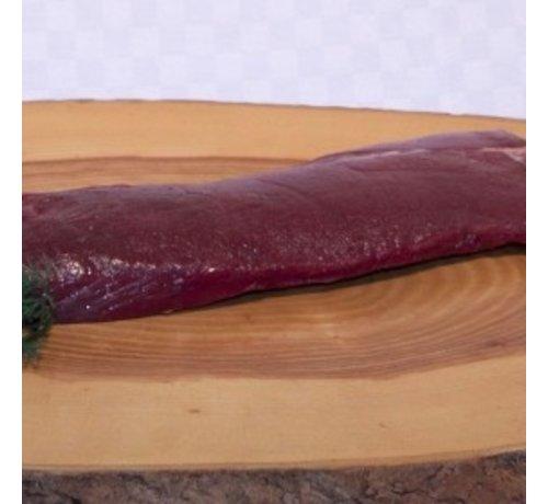 Hert GOUD(H)EERLIJKE Herten-rugfilet,  ±  300 Gram 100% puur mals Bio vlees