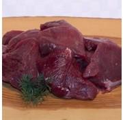 Wild zwijn produkt Wild goulash/poulet voor een  GOUD(H)EERLIJK STOOFPOTJE