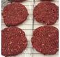 Ambachtelijk Wildburgers, 98% wild,  BIO VLEES