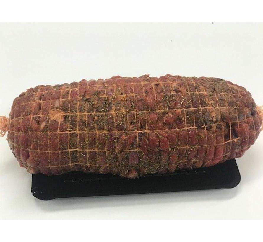 Ree Rollade, heerlijk vlees uit de achterbout