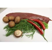 Ree Reerugfilet, het fijnste stuk vlees