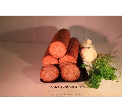 Wildspecialiteiten Grillworst van GOUD(H)EERLIJK wild ± 300 gram