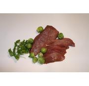 Wild zwijn produkt Wild-zwijn-biefstuk, ± 300 gram vol en stevig van smaak