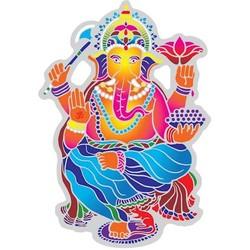 Raamsticker Dansende Ganesha - 15.5 cm