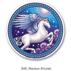 Raamsticker Pegasus