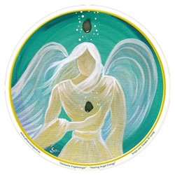 Raamsticker Healing Angel Energy - 10.5 cm