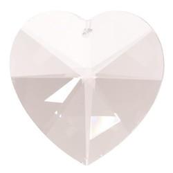 Regenboogkristal hartvorm