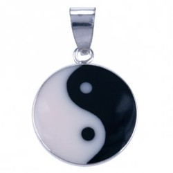 Symbool Hanger Medaillon Yin Yang