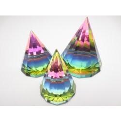 Kristallen prisma gekleurd S
