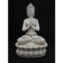 Tibetaanse Boeddha wit