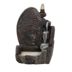 Boeddha Backflow Wierookbrander zwart